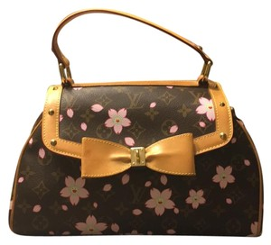 Louis Vuitton Satchel in Brown/pink