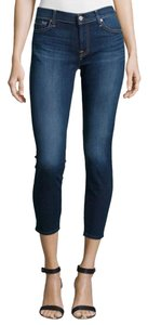 7 For All Mankind Jean Skinny Jeans-Medium Wash