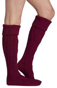 Free People Cable Knit Knee High