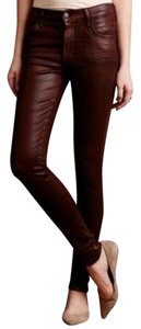 Citizens of Humanity Faux Leather Skinny Jeans