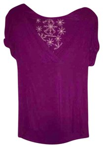 American Rag T Shirt Purple