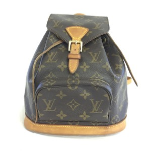 Louis Vuitton Lv Cnvas Montsouris Mm Backpack