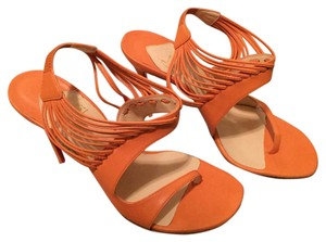 Christian Louboutin Orange Sandals