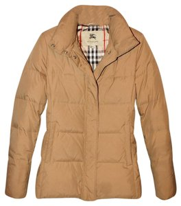 Burberry London Winter Quilted Lightweight Elastic Water-resistant Coat