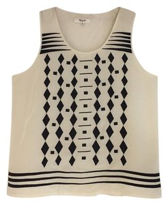 Madewell Top Beige/Black