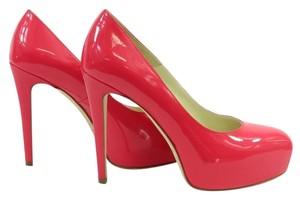 Brian Atwood Maniac Patent Pump Hot Pink Pumps
