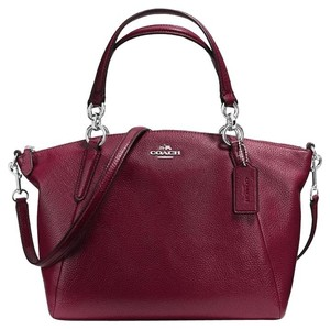 Coach Satchel in Burgundy