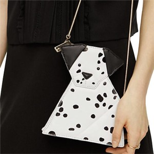 Kate Spade Black And White Clutch