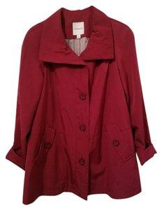 Croft & Barrow Rain Jacket Below Hip Jacket Raincoat