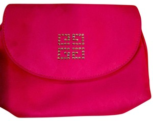 Givenchy Cosmetic Bag, Makeup Bag, Clutch, Shocking Pink Shocking Pink Clutch