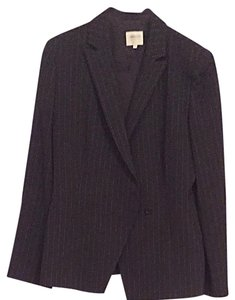 Armani Collezioni Armani Black And White Skirt Suit Size 10