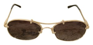 9f55a2bf190 Chloé Chloe aviators with gold rim and detailing
