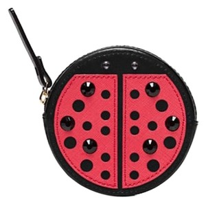 Kate Spade Turn Over A New Leaf Ladybug Coin Purse