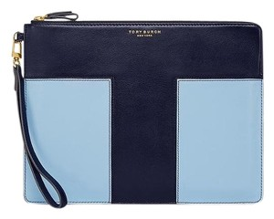 Tory Burch Navy/Blue Clutch