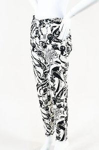Givenchy White Floral Pants