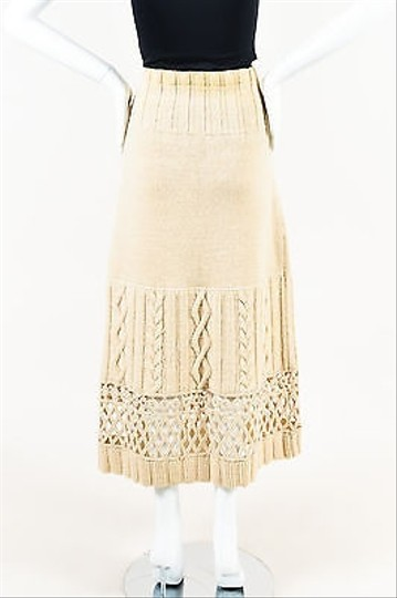 new concept 19f2a 9d6f7 outlet Philosophy di Alberta Ferretti Beige Wool Chunky Knit ...