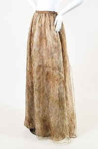 Sally Lapointe Maxi Skirt Brown