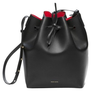 Mansur Gavriel Mini Bucket Flamma Shoulder Bag