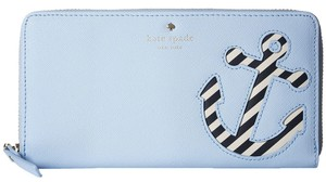 Kate Spade Kate Spade Expand Your Horizons Overboard Leather Lacey Wallet Pwru5022
