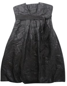 BCBGMAXAZRIA Brocade Strapless Party Dress