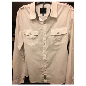 Calvin Klein Button Down Shirt White
