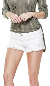 Guess Cut Off Shorts white