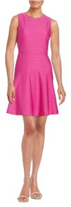 Donna Morgan short dress Pink Textures on Tradesy