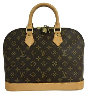 Louis Vuitton Lv Pm Alma Canvas Tote in Monogram