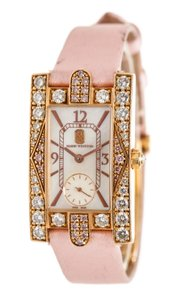 Harry Winston Harry Winston 18K Rose Gold and Diamond Auror Ladies Watch