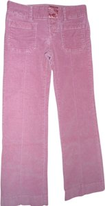 American Eagle Outfitters Boot Cut Pants Pink