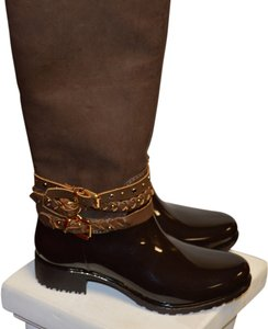 Monogram Brown Boots