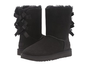 UGG Australia Suede Imported Black Boots