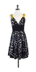 Robert Rodriguez short dress Black White Patterned on Tradesy
