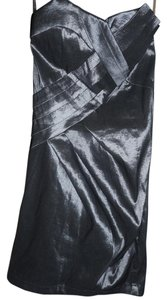 Forever 21 New Prom Mini Metallic Dress