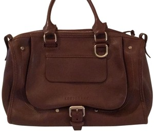 Longchamp Satchel in Brown