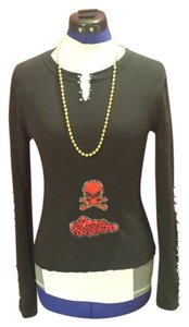Route 66 Skulls Longsleeve Small Sale 15off T Shirt Black/Red