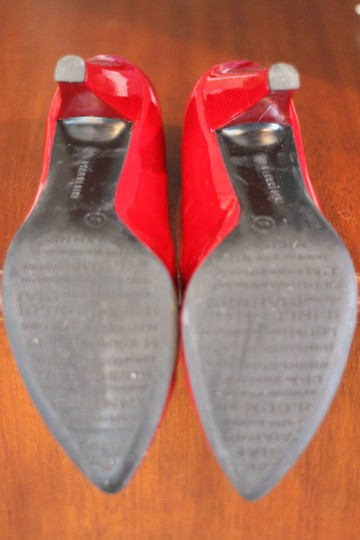 Gianni Bini Heels Ruby Patent Leather Patent Leather Red Pumps