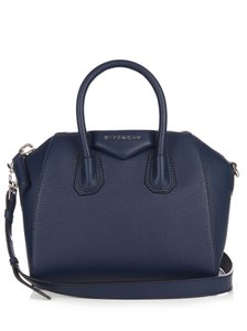 Givenchy Mini Antigona Sugar Satchel in blue