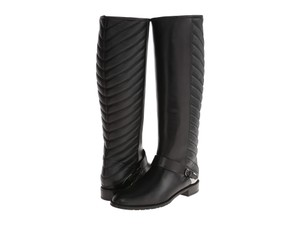 Stuart Weitzman Equestrian Style Black Boots