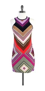 Trina Turk short dress Multi Color Geo Print Sleeveless on Tradesy