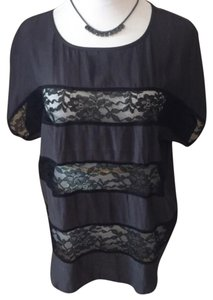 Express Top Black & Dark Grey