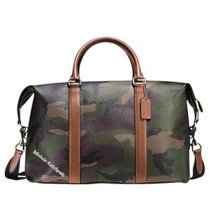 Coach GREEN CAMO Travel Bag