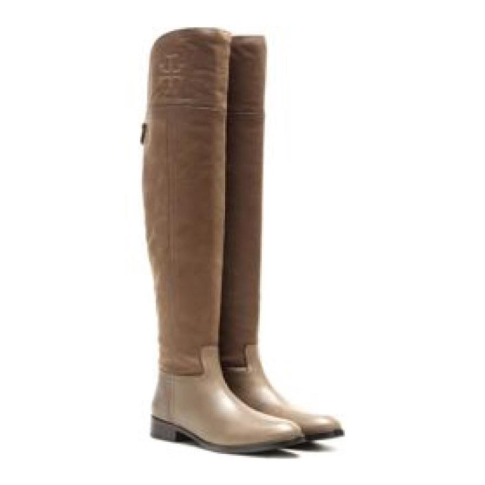 Tory Burch Over Weathered Brown Simone Over Burch The Knee Boots/Booties fccd34