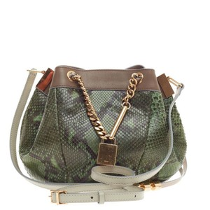 Chlo Chloe Python Cross Body Bag