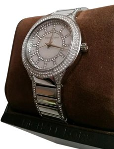 Michael Kors Michael Kors Kerry Pave Crystal and Silver tone Bling Watch New in Box