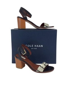 Cole Haan Cambon Snakeskin Leather Sandals