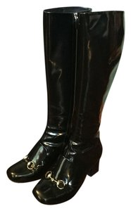 Gucci Horsebit black Boots