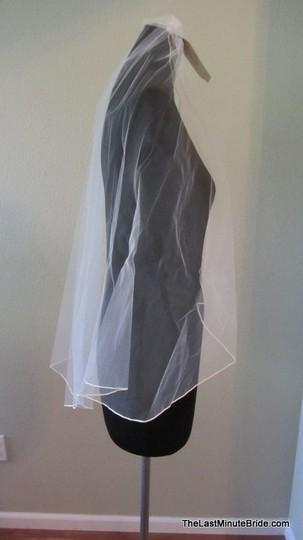 Jennifer Leigh Couture Veils and Accessories Diamond White Medium Style Lindsey Bridal Veil