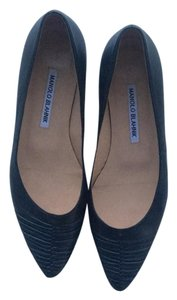 Manolo Blahnik Dark blue Flats