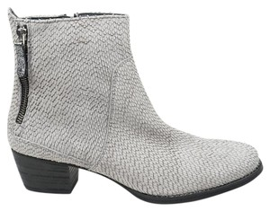 Paul Green Dory Suede Bootie 6 Grey Gray Boots
